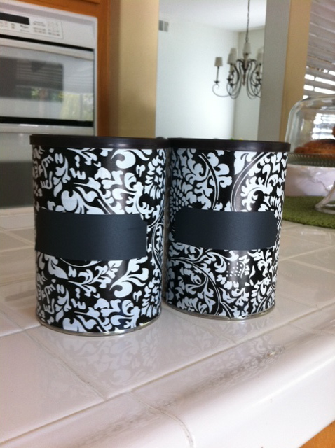 Making a epurposed coffee can is a great way to reuse metal coffee cans