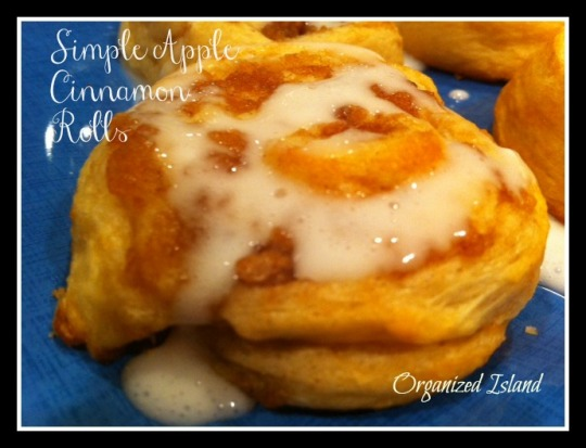 simple-apple-cinnamon-rolls Fall/Harvest recipes sure to adore!